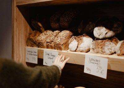 Frische Brote und Backwaren