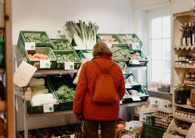 Frisches Gemüse einkaufen